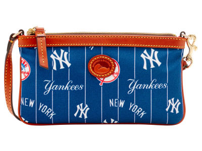 New York Yankees Dooney & Bourke Nylon Wristlet