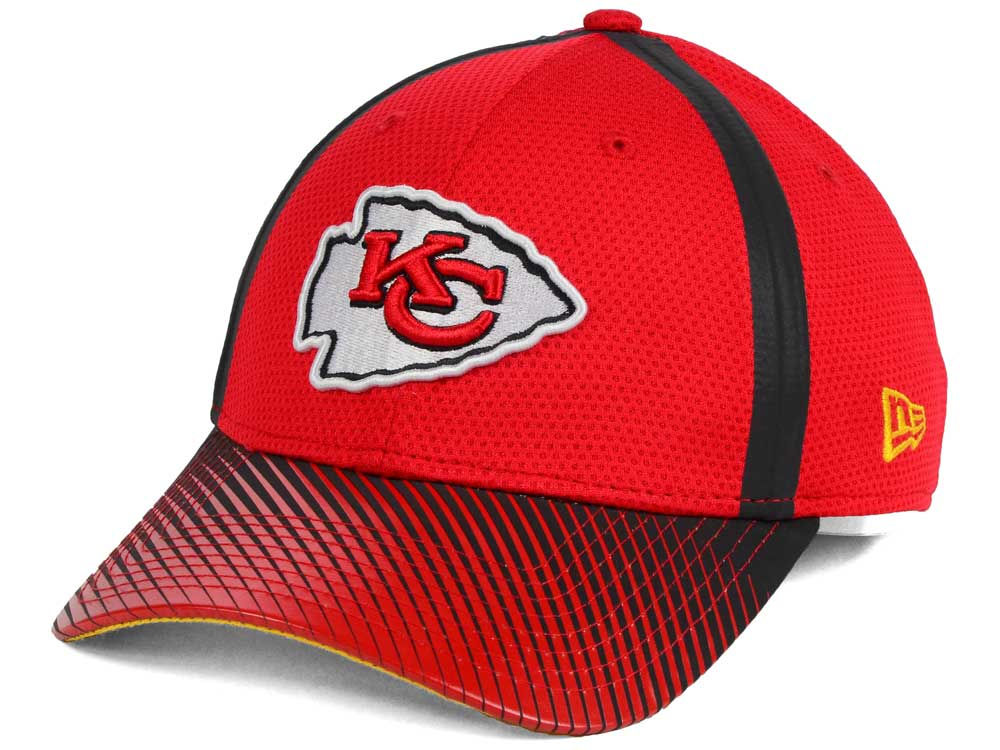 f056f51dfd3 Kansas City Chiefs New Era NFL Ref Fade 39THIRTY Cap