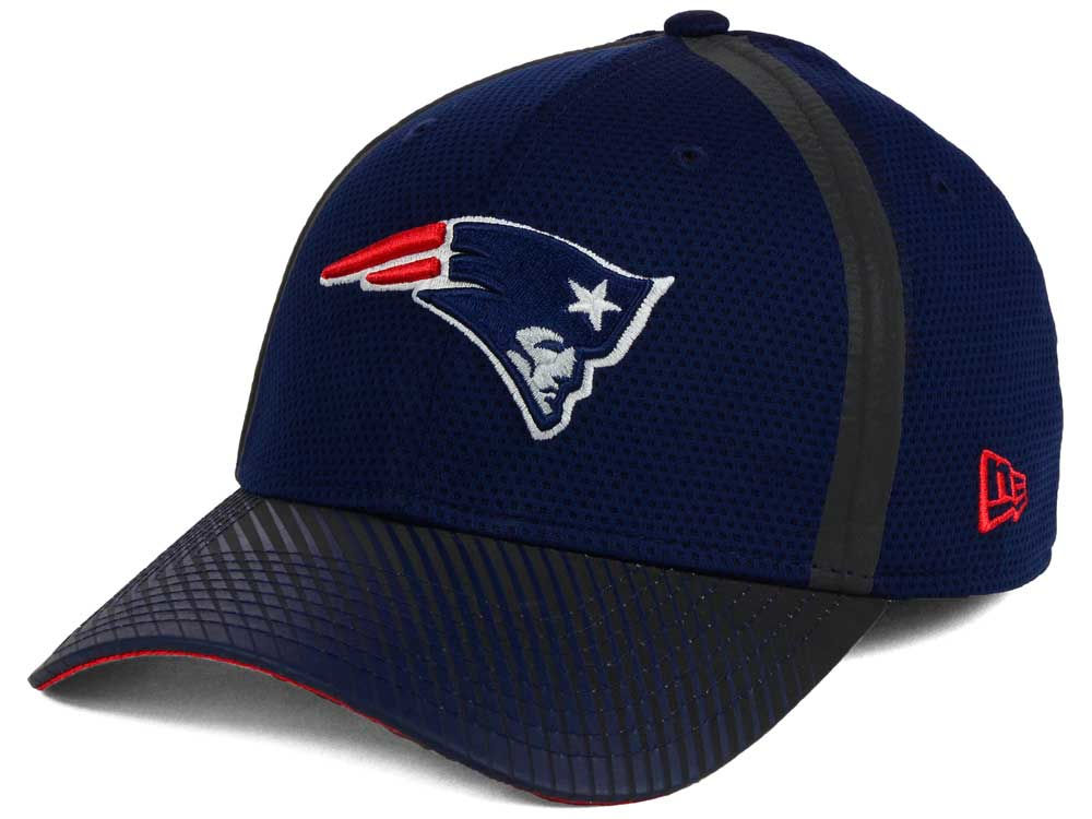 New England Patriots New Era Nfl Ref Fade 39thirty Cap Lids Com 13a7d9563