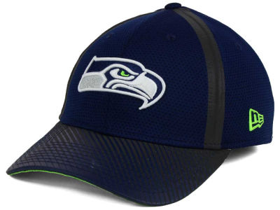 Seattle Seahawks New Era NFL Ref Fade 39THIRTY Cap