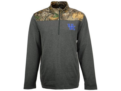 Kentucky Wildcats NCAA Men's Realtree Timber 1/2 Zip Jacket