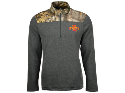 Iowa State Cyclones NCAA Men's Realtree Timber 1/2 Zip Jacket