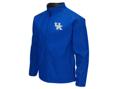 Kentucky Wildcats Colosseum NCAA Men's Carrier Full Zip Wind Jacket