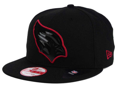 Arizona Cardinals New Era NFL Black Bevel 9FIFTY Snapback Cap