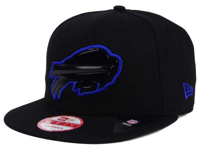 Buffalo Bills New Era NFL Black Bevel 9FIFTY Snapback Cap