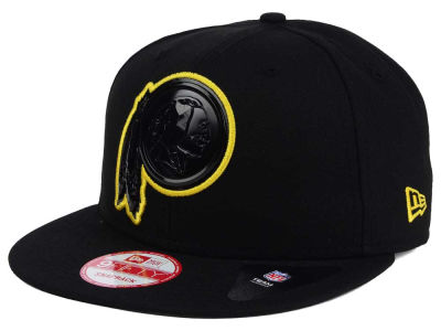 Washington Redskins New Era NFL Black Bevel 9FIFTY Snapback Cap