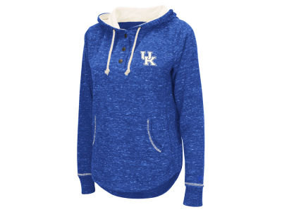 Kentucky Wildcats NCAA Women's Sunset Henley Hoodie