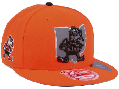 Cleveland Browns New Era NFL TC State Flec 9FIFTY Snapback Cap