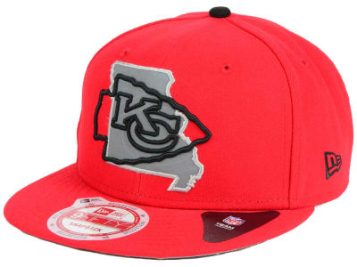 Kansas City Chiefs New Era NFL TC State Flec 9FIFTY Snapback Cap
