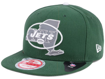 New York Jets New Era NFL TC State Flec 9FIFTY Snapback Cap