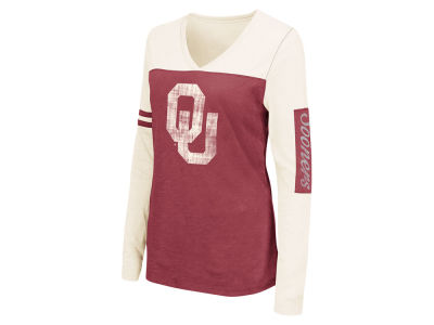 Oklahoma Sooners NCAA Women's Whatevs Long Sleeve T-Shirt
