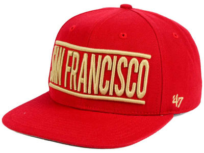San Francisco 49ers NFL On Track '47 CAPTAIN Cap