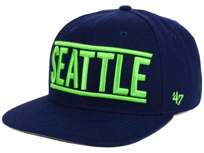 Seattle Seahawks NFL On Track '47 CAPTAIN Cap