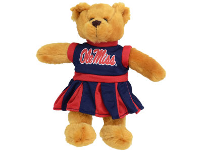 Ole Miss Rebels Cheerlearder Bear
