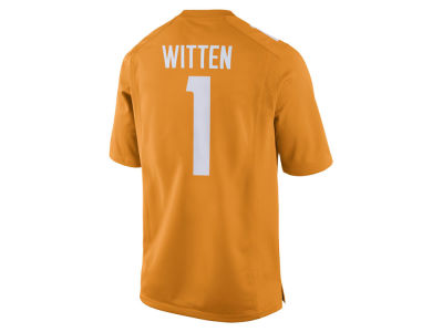 Tennessee Volunteers Jason Witten Nike NCAA Men's Player Game Jersey