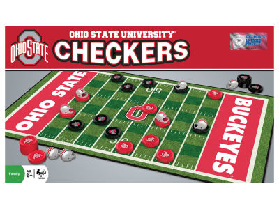Ohio State Buckeyes Checkers