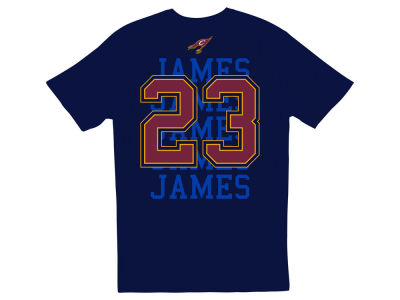 Cleveland Cavaliers LeBron James NBA Men's Repeater Player T-Shirt