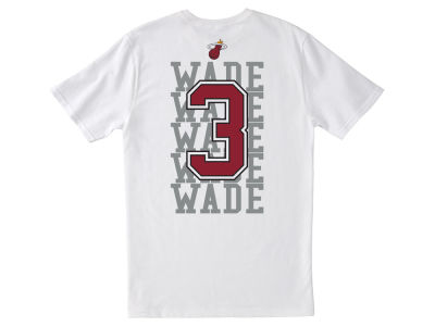 Miami Heat Dwyane Wade NBA Men's Repeater Player T-Shirt