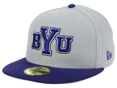 Brigham Young Cougars New Era NCAA Grayson 59FIFTY Cap