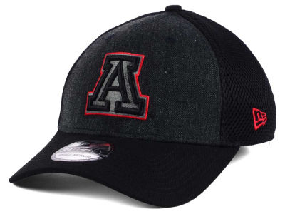 Arizona Wildcats New Era NCAA Heather Black Neo 39THIRTY Cap
