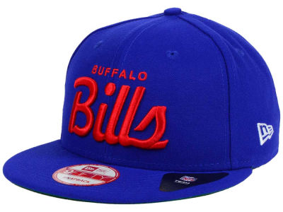 Buffalo Bills New Era NFL LIDS 20th Anniversary Script 9FIFTY Snapback Cap