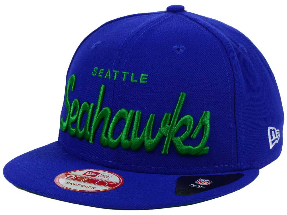 ... top quality seattle seahawks new era nfl retro script 9fifty snapback  cap b1ff8 2afe1 62cc7ec3f554