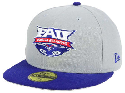 Florida Atlantic Owls New Era NCAA Grayson 59FIFTY Cap