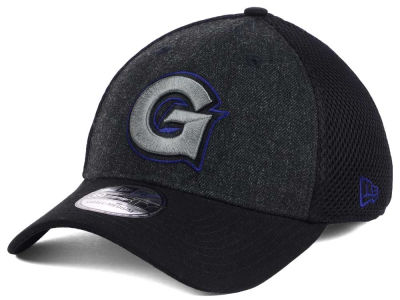 Georgetown Hoyas New Era NCAA Heather Black Neo 39THIRTY Cap
