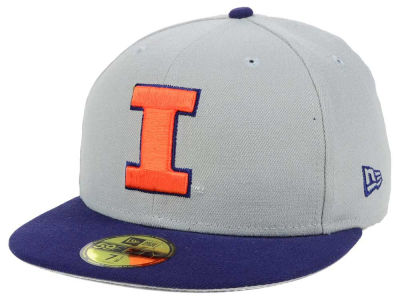 Illinois Fighting Illini New Era NCAA Grayson 59FIFTY Cap