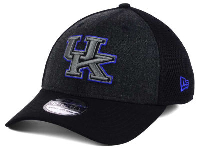 Kentucky Wildcats New Era NCAA Heather Black Neo 39THIRTY Cap