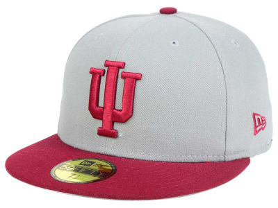 Indiana Hoosiers New Era NCAA Grayson 59FIFTY Cap