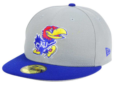 Kansas Jayhawks New Era NCAA Grayson 59FIFTY Cap