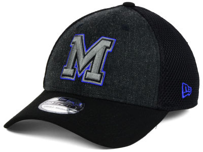 Memphis Tigers New Era NCAA Heather Black Neo 39THIRTY Cap