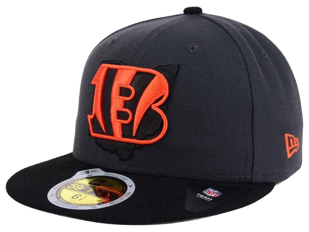 Cincinnati Bengals New Era NFL State Flective 3.0 59FIFTY Cap  c3ddddab022