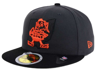 Cleveland Browns New Era NFL State Flective 3.0 59FIFTY Cap