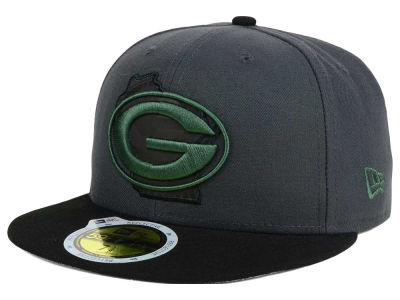 Green Bay Packers New Era NFL State Flective 3.0 59FIFTY Cap