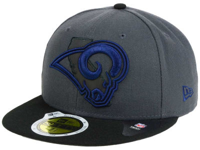 Los Angeles Rams New Era NFL State Flective 3.0 59FIFTY Cap