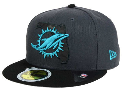 Miami Dolphins New Era NFL State Flective 3.0 59FIFTY Cap
