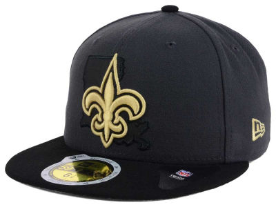 New Orleans Saints New Era NFL State Flective 3.0 59FIFTY Cap