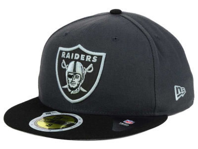 Oakland Raiders New Era NFL State Flective 3.0 59FIFTY Cap