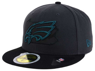 Philadelphia Eagles New Era NFL State Flective 3.0 59FIFTY Cap