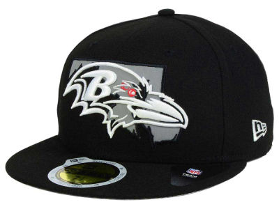 Baltimore Ravens New Era NFL State Flective Redux 59FIFTY Cap
