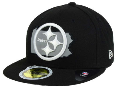 Pittsburgh Steelers New Era NFL State Flective Redux 59FIFTY Cap
