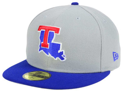 Louisiana Tech Bulldogs New Era NCAA Grayson 59FIFTY Cap