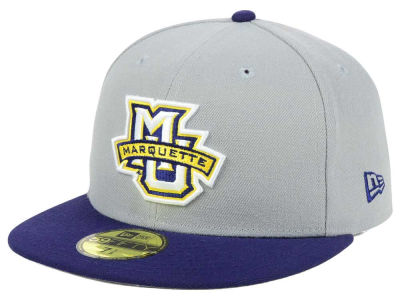 Marquette Golden Eagles New Era NCAA Grayson 59FIFTY Cap