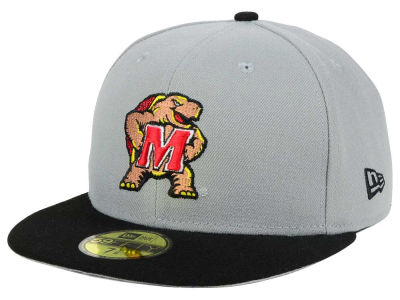 Maryland Terrapins New Era NCAA Grayson 59FIFTY Cap