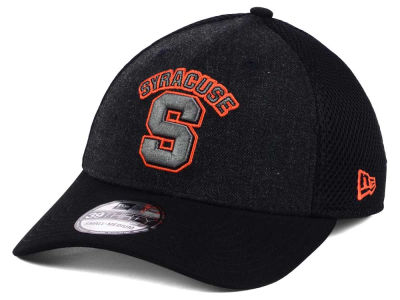Syracuse Orange New Era NCAA Heather Black Neo 39THIRTY Cap