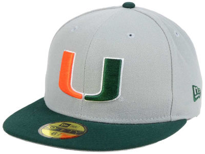 Miami Hurricanes New Era NCAA Grayson 59FIFTY Cap