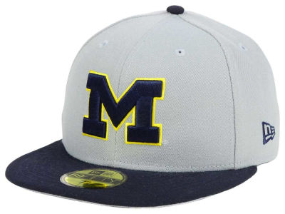 Michigan Wolverines New Era NCAA Grayson 59FIFTY Cap