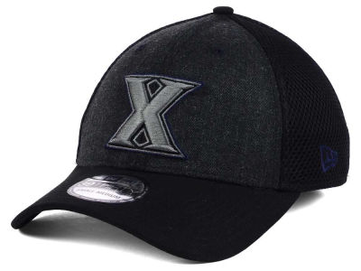 Xavier Musketeers New Era NCAA Heather Black Neo 39THIRTY Cap